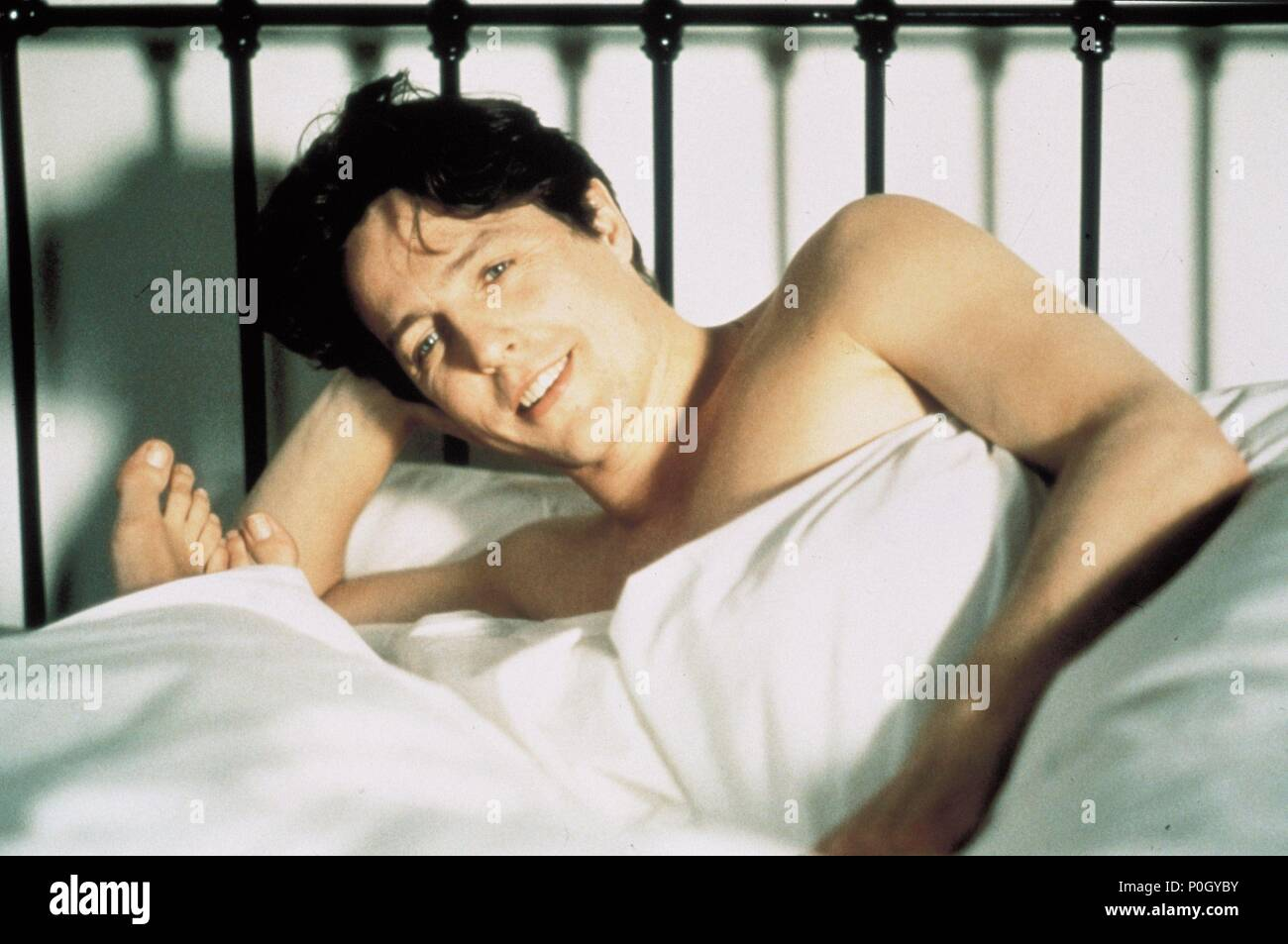 Original Film Title: NOTTING HILL.  English Title: NOTTING HILL.  Film Director: ROGER MICHELL.  Year: 1999.  Stars: HUGH GRANT. Credit: POLYGRAM / Album - Stock Image