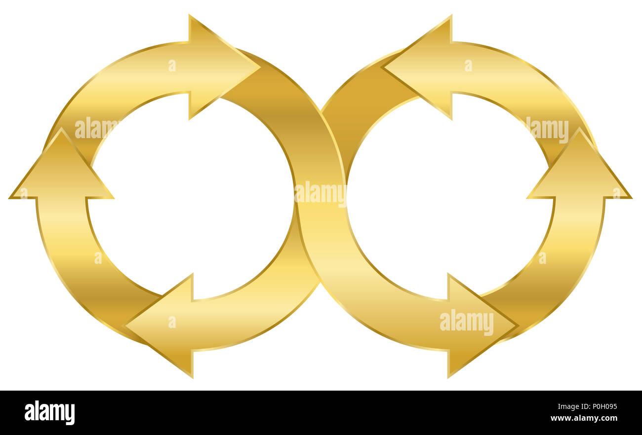 Infinity Loop Stock Photos & Infinity Loop Stock Images - Alamy