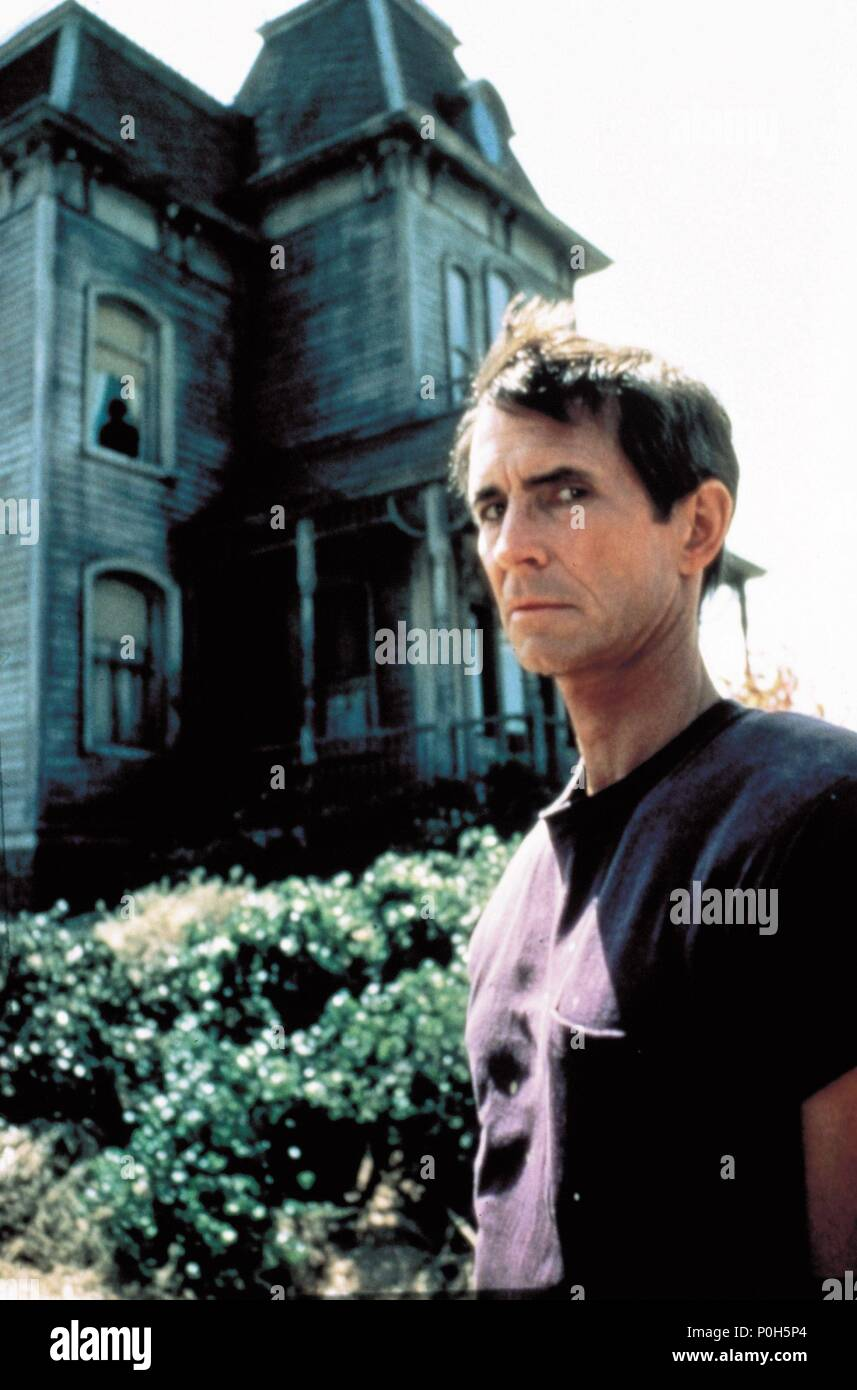 Original Film Title: PSYCHO II.  English Title: PSYCHO II.  Film Director: RICHARD FRANKLIN.  Year: 1983.  Stars: ANTHONY PERKINS. Credit: UNIVERSAL PICTURES / Album Stock Photo