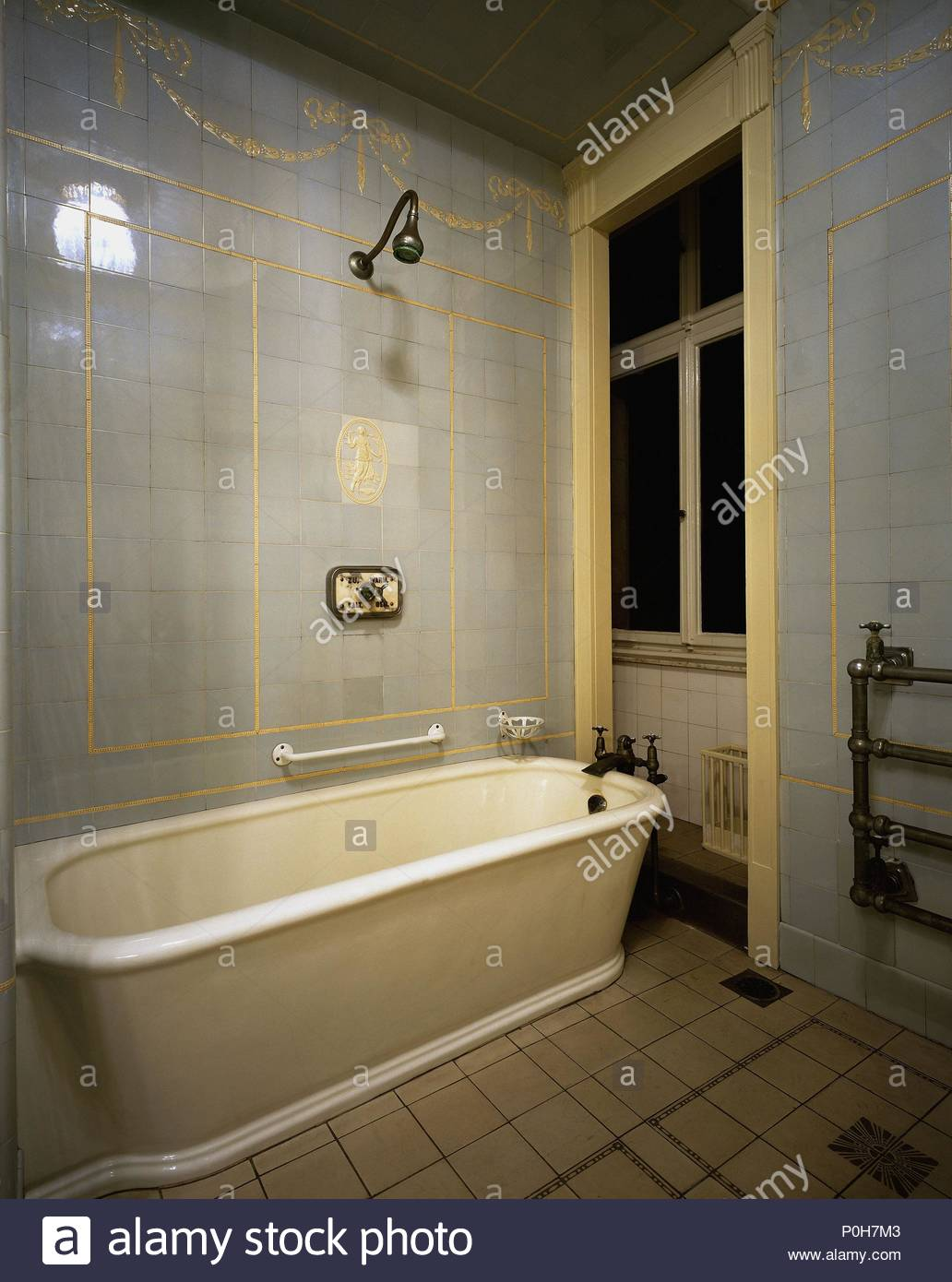 Bathroom, specially installed for a visit by Emperor Wilhelm II ...