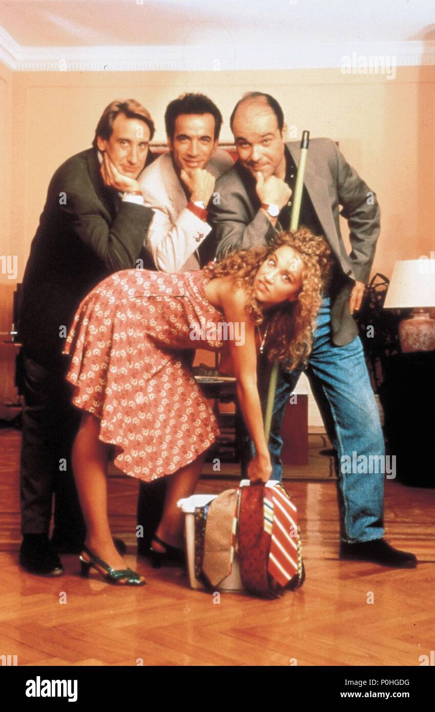 Original Film Title: TODOS LOS HOMBRES SOIS IGUALES.  English Title: ALL MEN ARE THE SAME.  Film Director: MANUEL GOMEZ PEREIRA.  Year: 1994.  Stars: ANTONIO RESINES; IMANOL ARIAS; JUANJO PUIGCORBE; CRISTINA MARCOS. Credit: COLUMBIA TRI STAR / Album - Stock Image