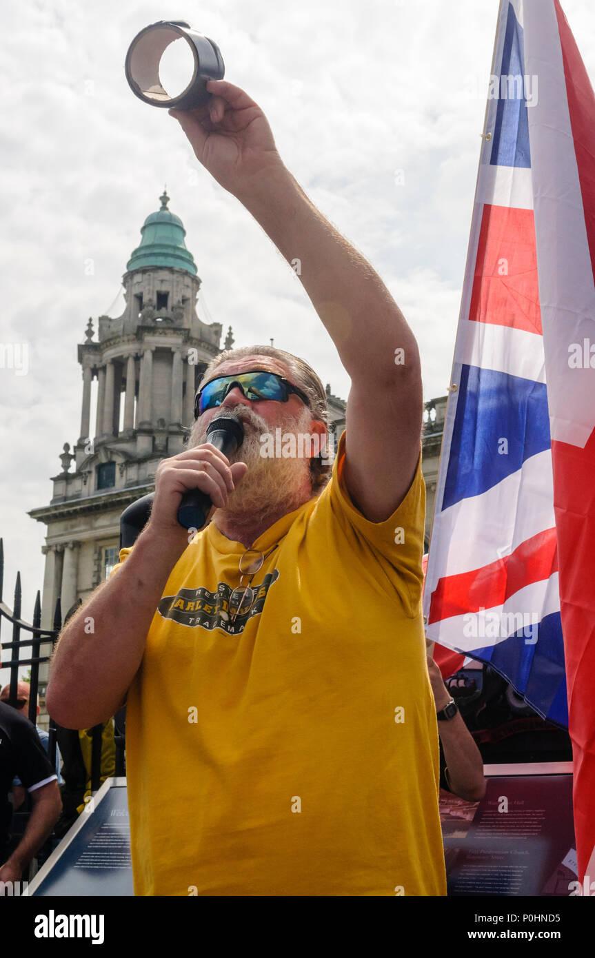 Belfast, Northenrn Ireland, 09/06/2018 - Tom Burns, Common