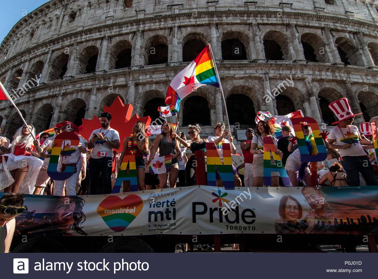 from Korbin gay pride rome