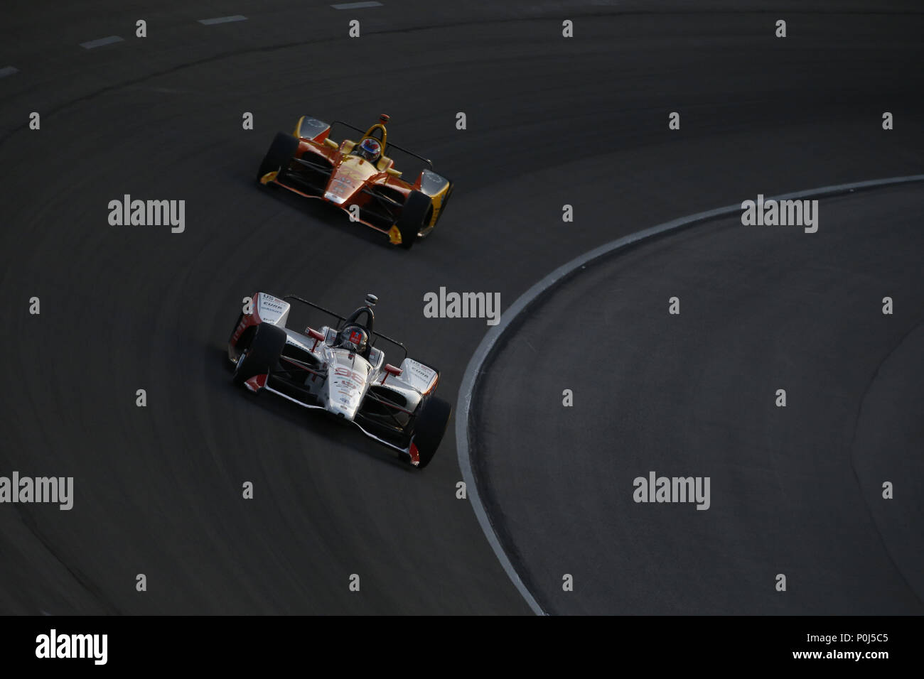 Fort Worth, Texas, USA. 9th June, 2018. MARCO ANDRETTI (98) of the ...