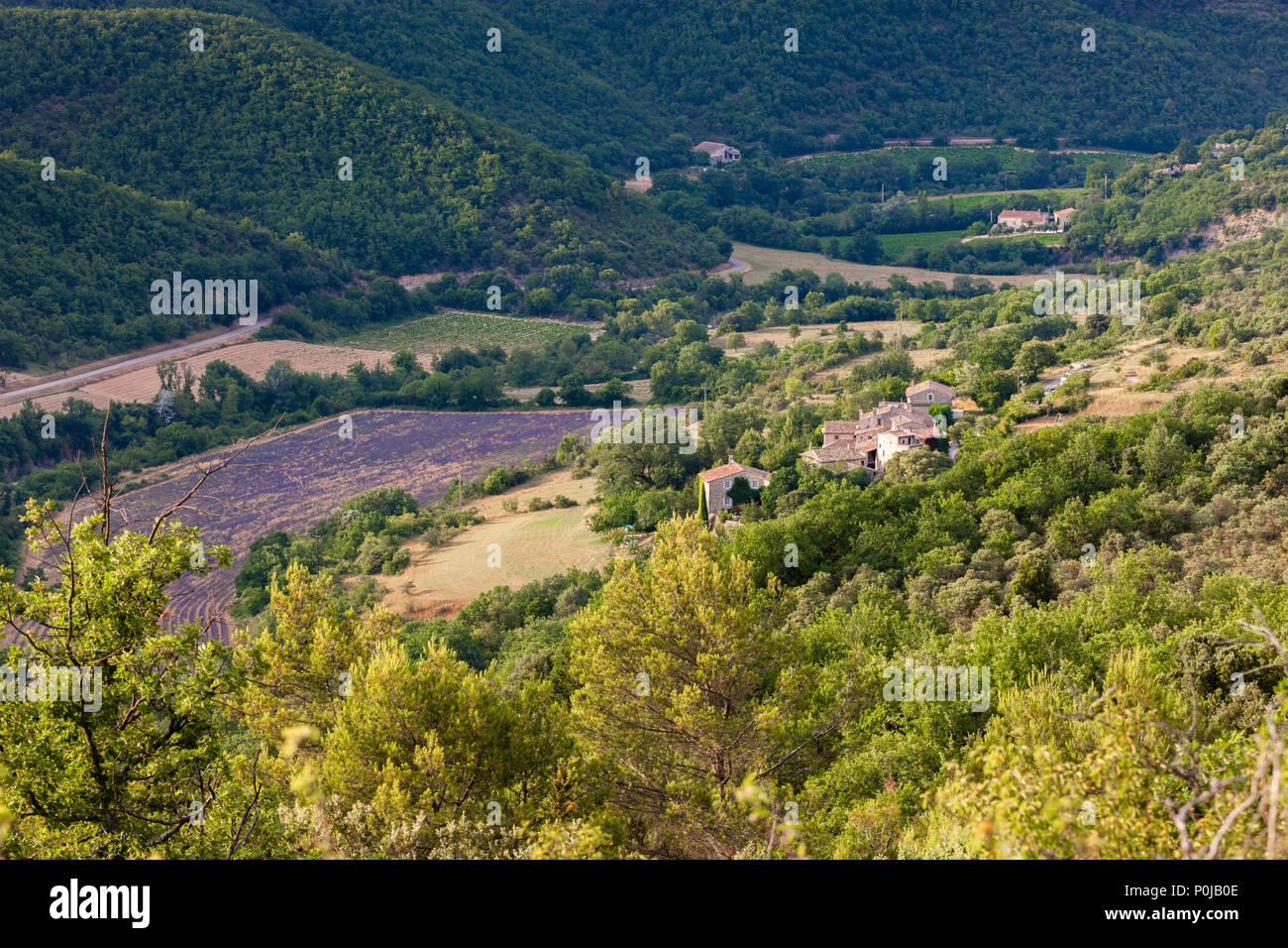 Larnas Bourg-Saint-Andéol Privas Ardèche Auvergne-Rhône-Alpes France Stock Photo