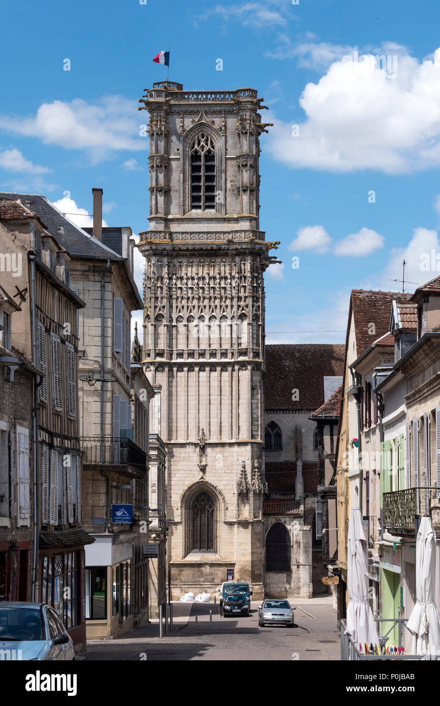 Clamecy Nièvre Yonne Bourgogne-Franche-Comte France - Stock Image