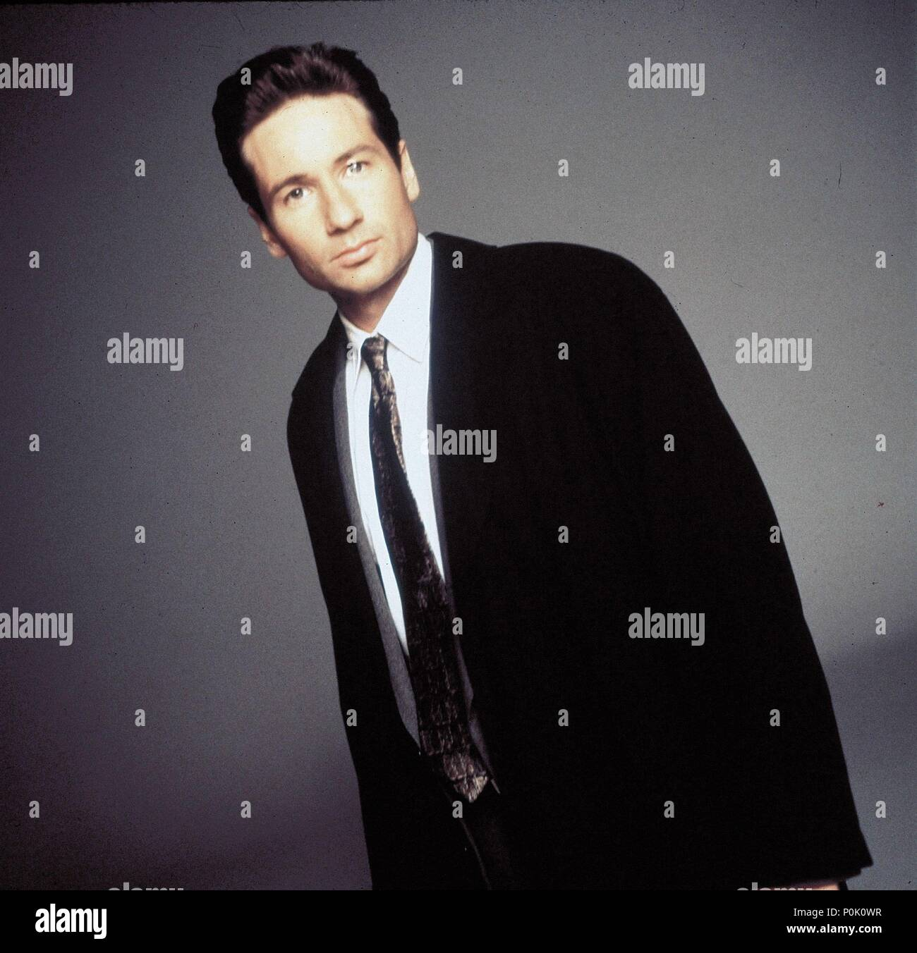 Original Film Title: THE X FILES.  English Title: THE X FILES.  Film Director: CHRIS CARTER; ROB BOWMAN; DAVID NUTTER.  Year: 1993.  Stars: DAVID DUCHOVNY. Credit: FOX FILMS / Album - Stock Image