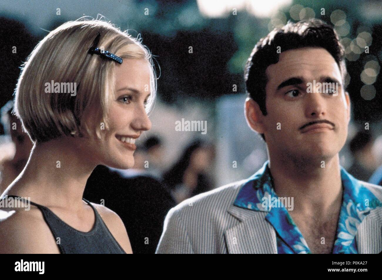 Original Film Title: THERE'S SOMETHING ABOUT MARY.  English Title: THERE'S SOMETHING ABOUT MARY.  Film Director: BOBBY & PETER FARRELLY; BOBBY FARRELLY; PETER FARRELLY.  Year: 1998.  Stars: CAMERON DIAZ; MATT DILLON. Credit: 20TH CENTURY FOX / Album - Stock Image