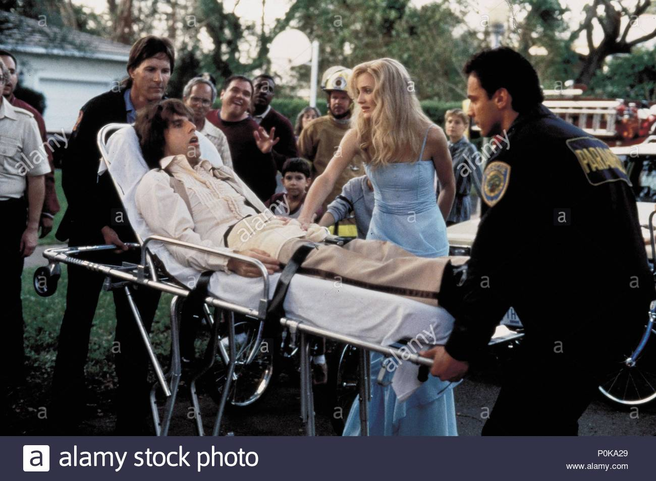 Original Film Title: THERE'S SOMETHING ABOUT MARY.  English Title: THERE'S SOMETHING ABOUT MARY.  Film Director: BOBBY & PETER FARRELLY; BOBBY FARRELLY; PETER FARRELLY.  Year: 1998.  Stars: CAMERON DIAZ; BEN STILLER. Credit: 20TH CENTURY FOX / WATSON, GLEN / Album - Stock Image