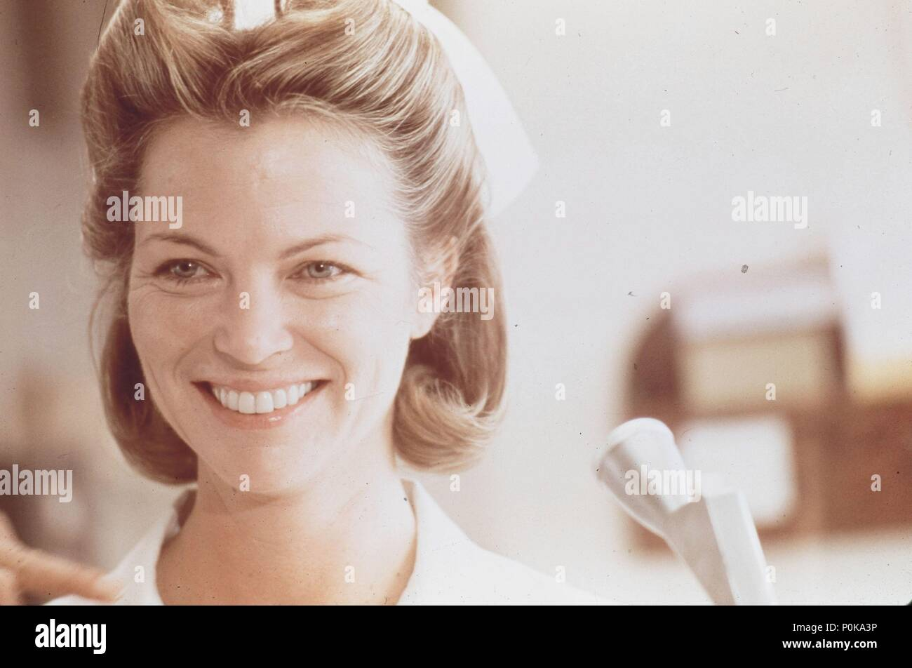 Original Film Title: ONE FLEW OVER THE CUCKOO'S NEST.  English Title: ONE FLEW OVER THE CUCKOO'S NEST.  Film Director: MILOS FORMAN.  Year: 1975.  Stars: LOUISE FLETCHER. Credit: UNITED ARTISTS / Album - Stock Image