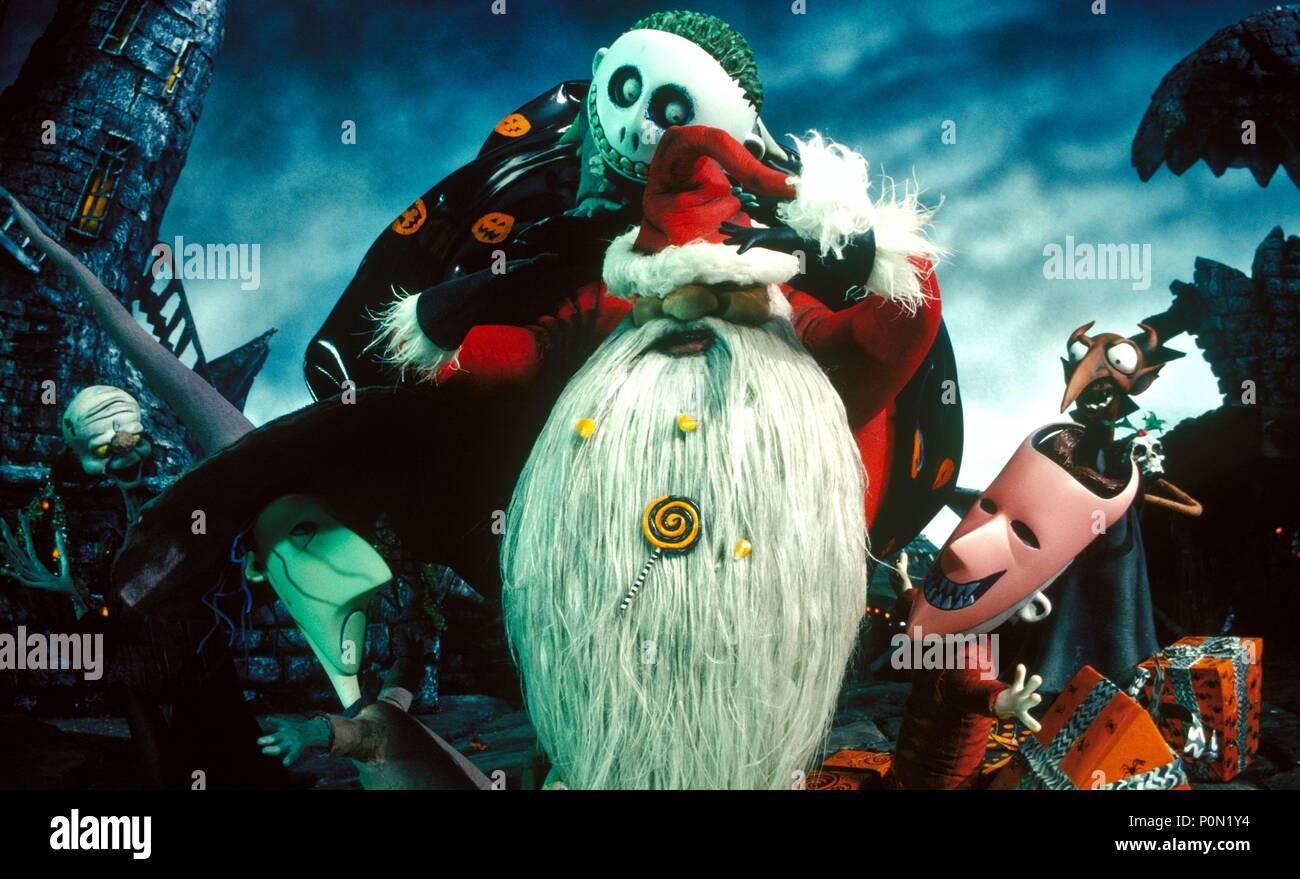Nightmare Before Christmas Santa Stock Photos & Nightmare Before ...