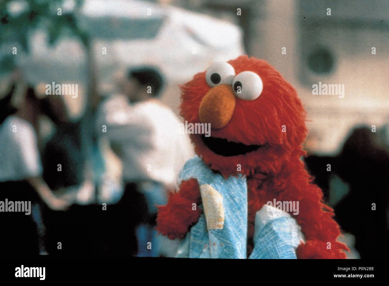 Original Film Title: THE ADVENTURES OF ELMO IN GROUCHLAND.  English Title: THE ADVENTURES OF ELMO IN GROUCHLAND.  Film Director: GARY HALVORSON.  Year: 1999.  Stars: ELMO. Credit: JIM HENSON PRODUCTIONS / Album Stock Photo