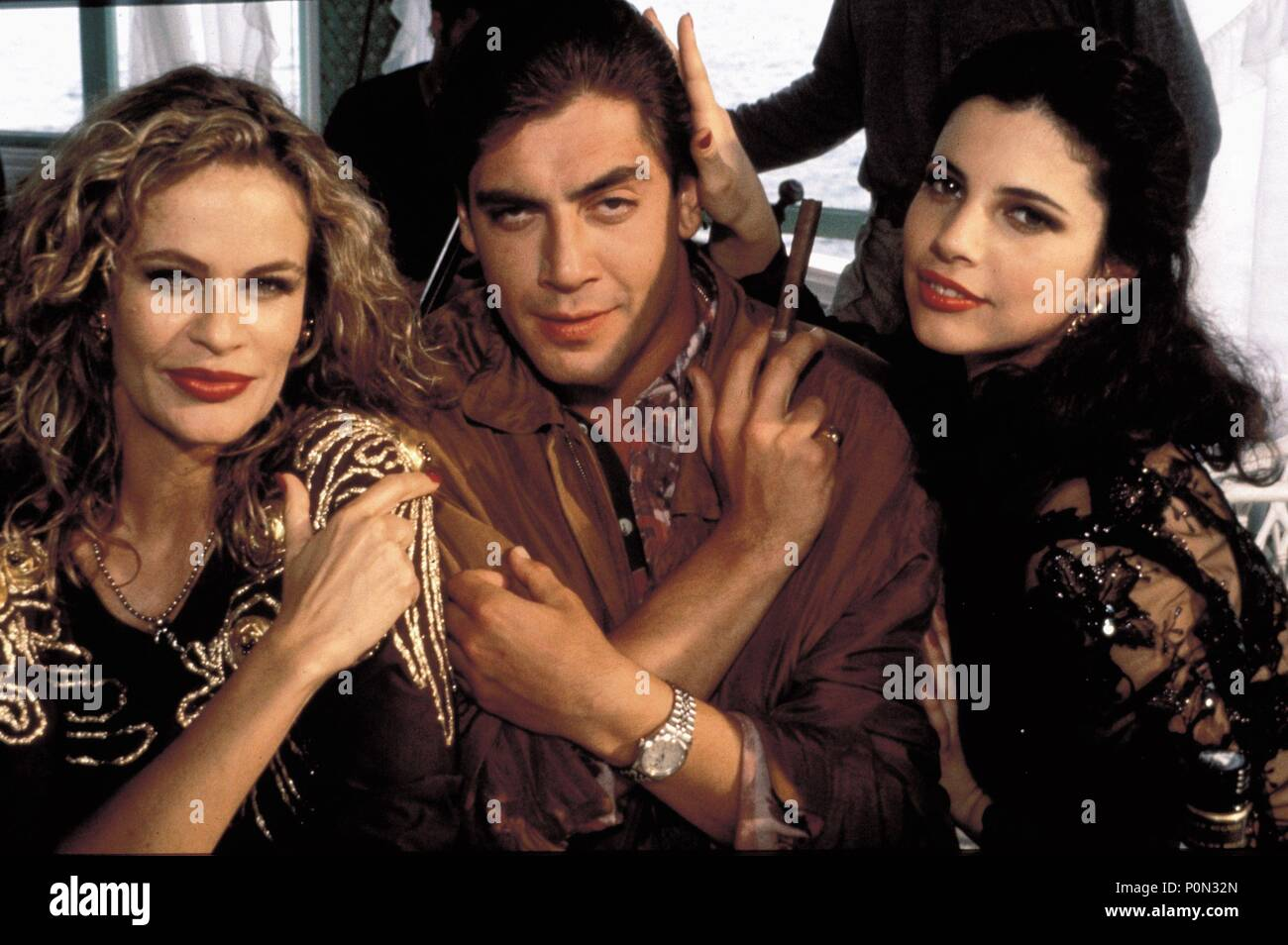 Original Film Title: HUEVOS DE ORO.  English Title: GOLDEN BALLS.  Film Director: JUAN JOSE BIGAS LUNA.  Year: 1993.  Stars: JAVIER BARDEM; MARIBEL VERDU. Credit: LOLAFILMS / Album - Stock Image