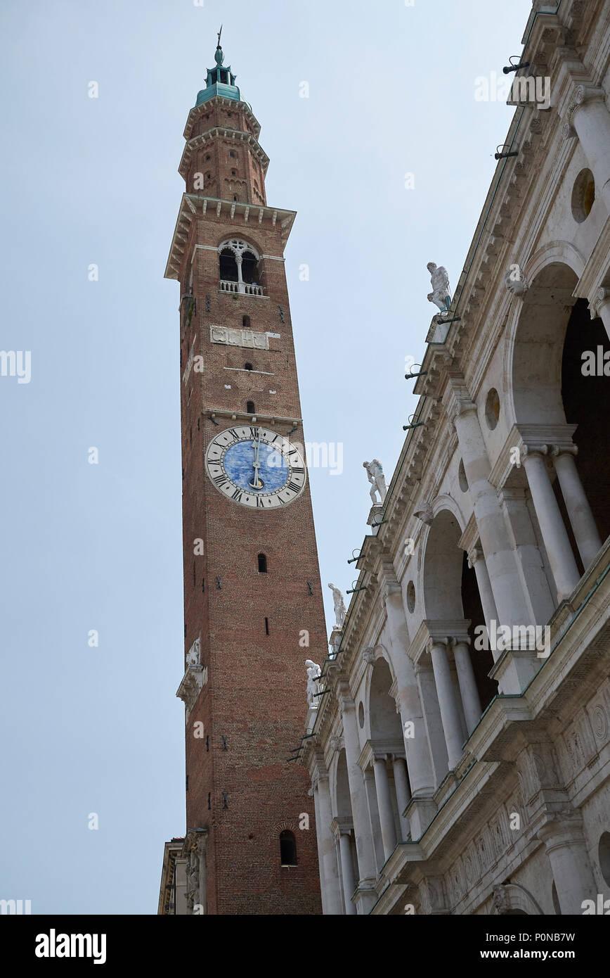 Vicenza, Italy - May 26, 2018 : View of Basilica Palladiana and ...