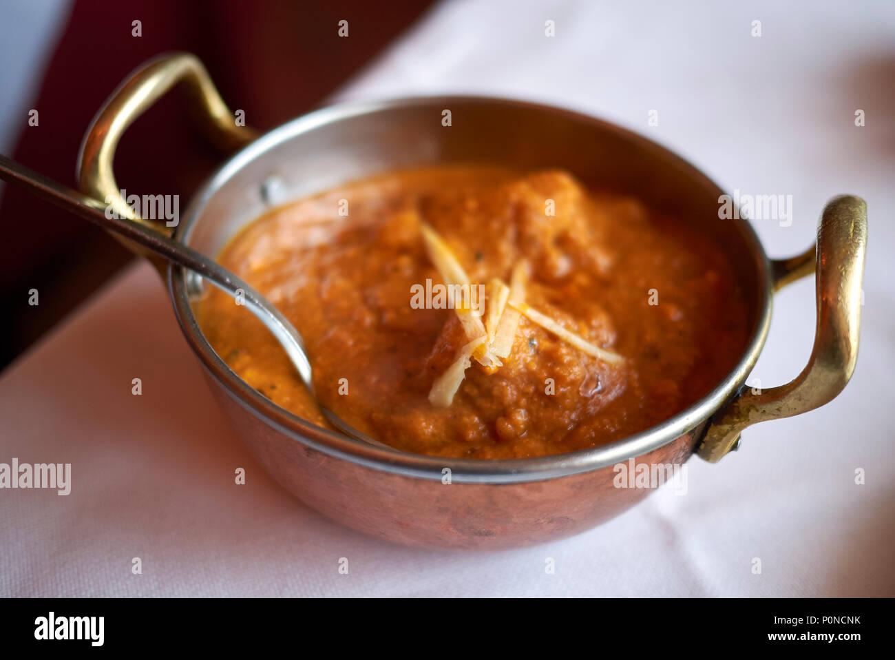 kashmiri dum aloo - Stock Image