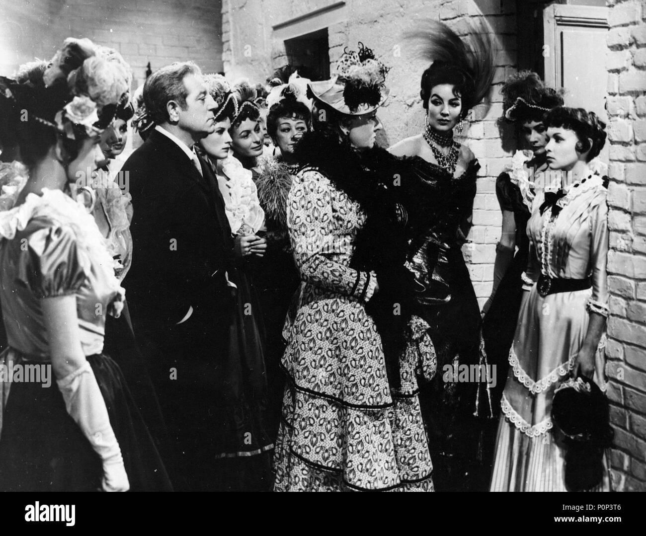 English Title: FRENCH CANCAN. Film Director: JEAN RENOIR. Year: 1954.  Stars: JEAN GABIN; MARIA FELIX. Credit: FRANCO LONDON FILMS / Album