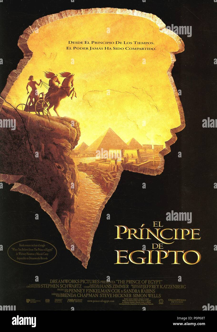 The Prince of Egypt (1998) (English Movie)