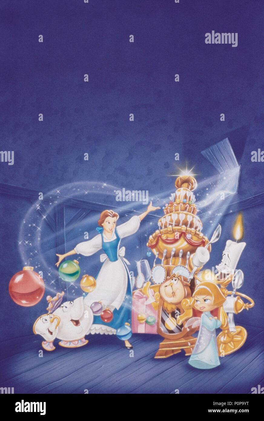 Beauty And The Beast Christmas.Original Film Title Beauty And The Beast The Enchanted