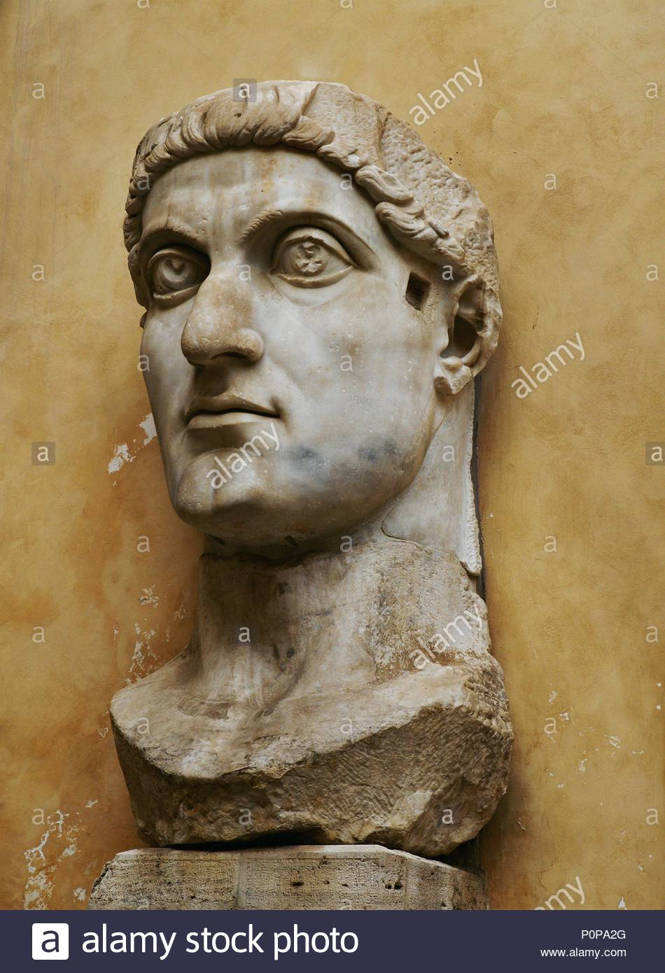 6faf58d911c Emperor Constantine the Great (306-337 CE). Marble head