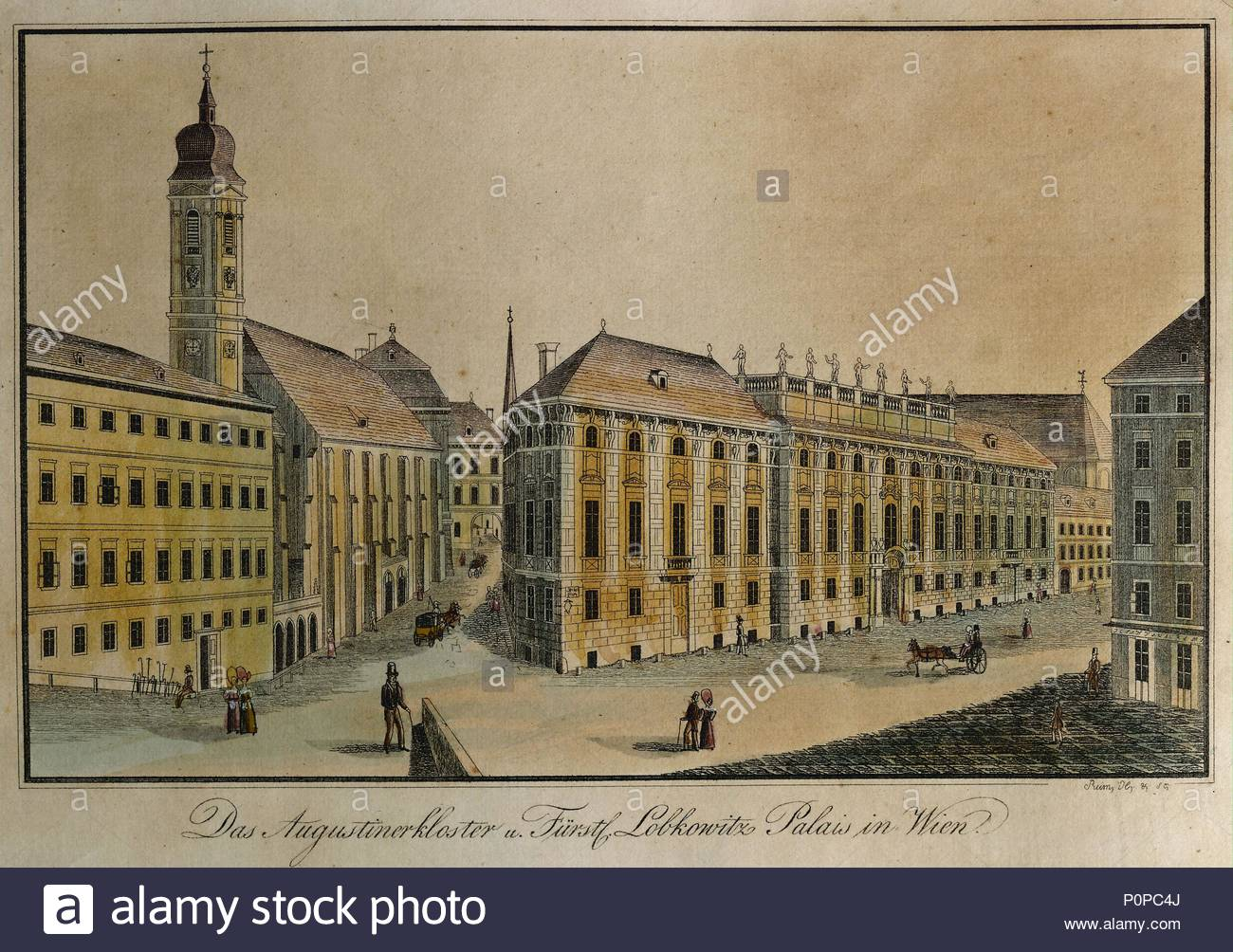 lobkowitz palace in vienna site of the first performance of ludwig