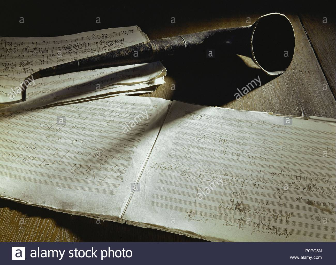 manuscript of ludwig van beethoven s third symphony eroica and