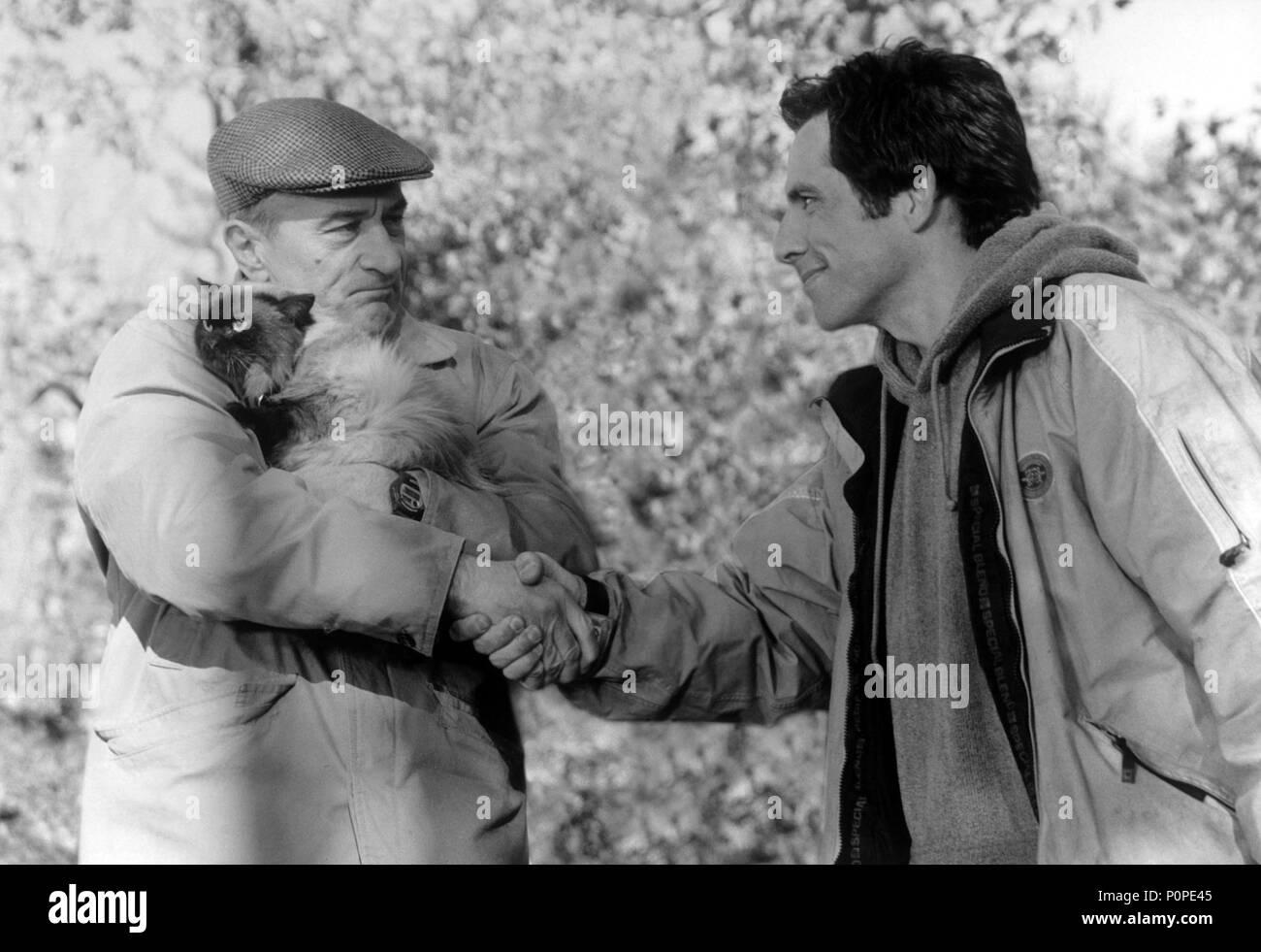 Original Film Title: MEET THE PARENTS.  English Title: MEET THE PARENTS.  Film Director: M. JAY ROACH.  Year: 2000.  Stars: BEN STILLER; ROBERT DE NIRO. Credit: UNIVERSAL / Album - Stock Image