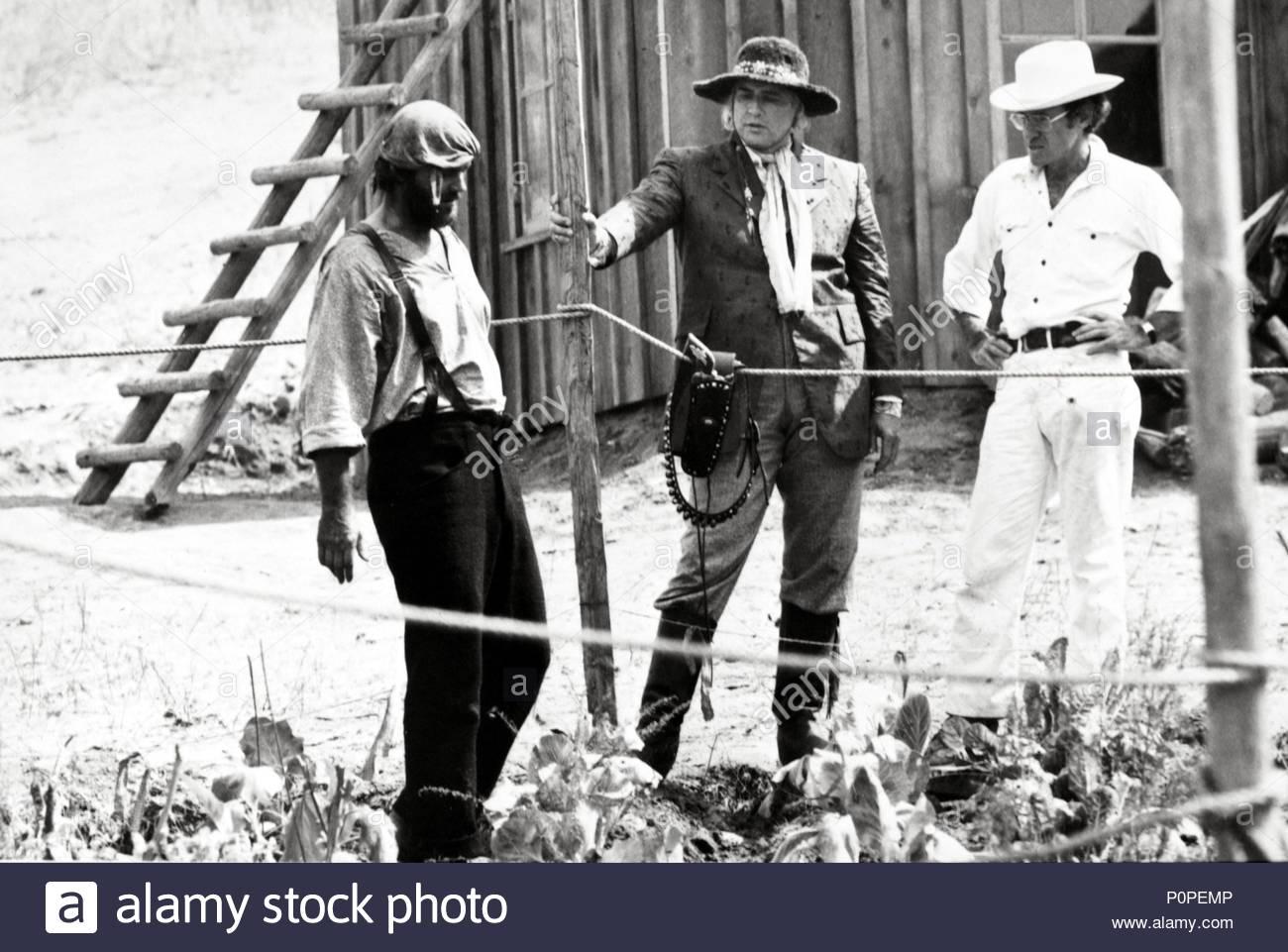 Original Film Title: THE MISSOURI BREAKS.  English Title: THE MISSOURI BREAKS.  Film Director: ARTHUR PENN.  Year: 1976.  Stars: ARTHUR PENN; JACK NICHOLSON; MARLON BRANDO. Credit: UNITED ARTISTS / Album - Stock Image