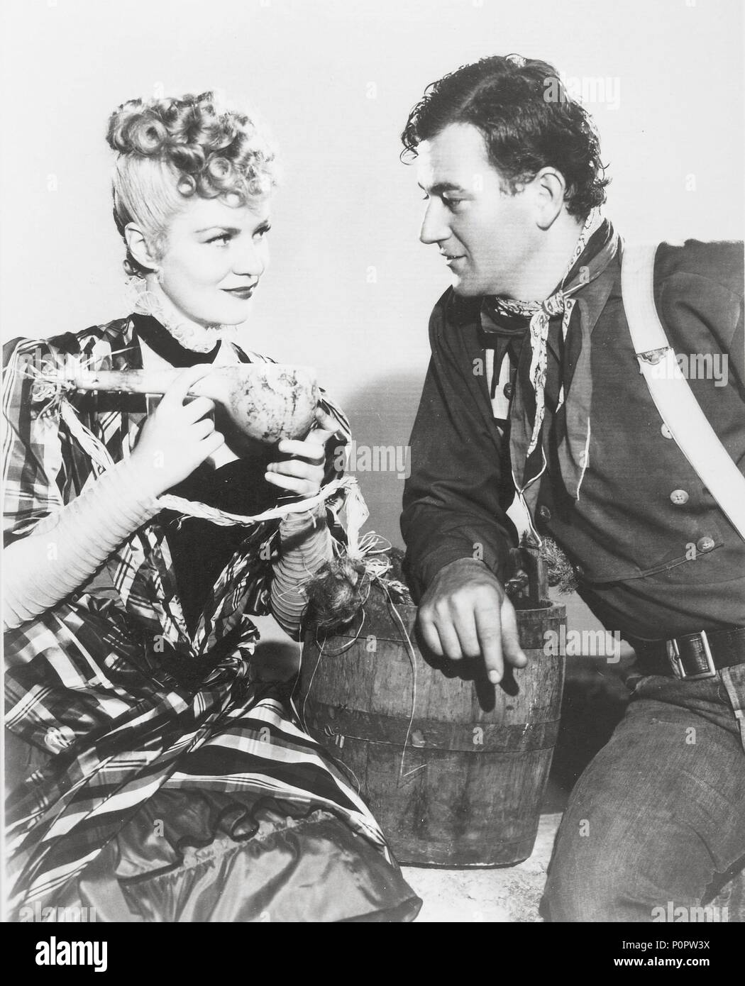Original Film Title: STAGECOACH.  English Title: STAGECOACH.  Film Director: JOHN FORD.  Year: 1939.  Stars: JOHN WAYNE; CLAIRE TREVOR. Credit: UNITED ARTISTS / Album - Stock Image
