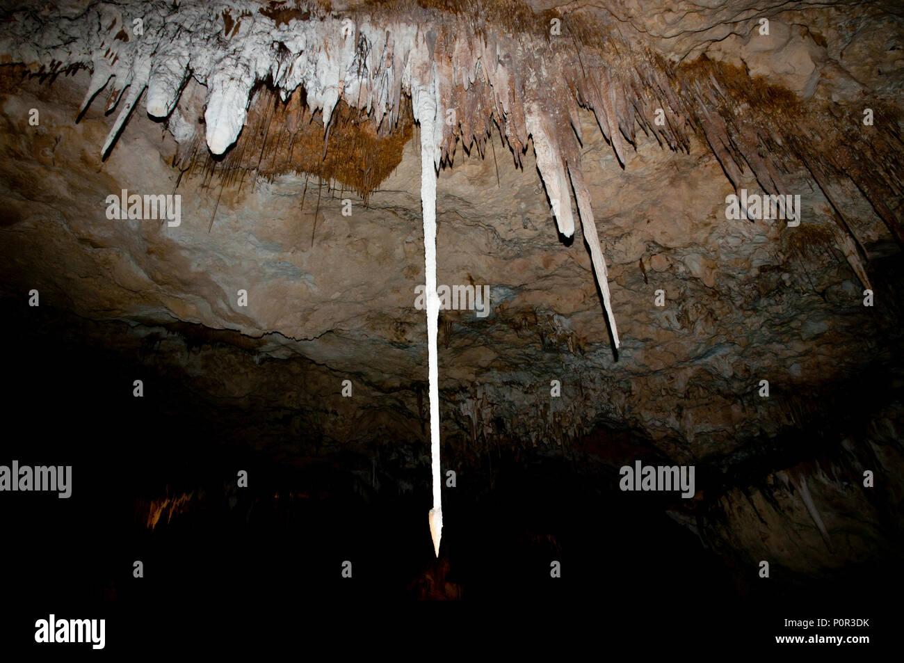 Jewel Cave - Western Australia - Stock Image