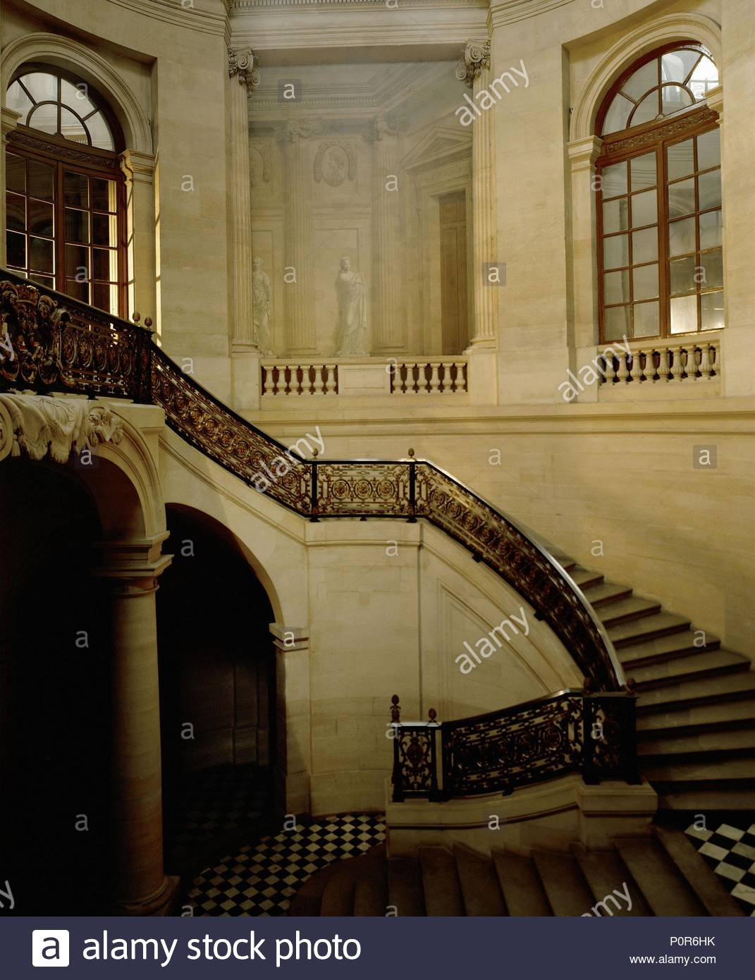 palais royal escalier d honneur designed by contant d ivry the
