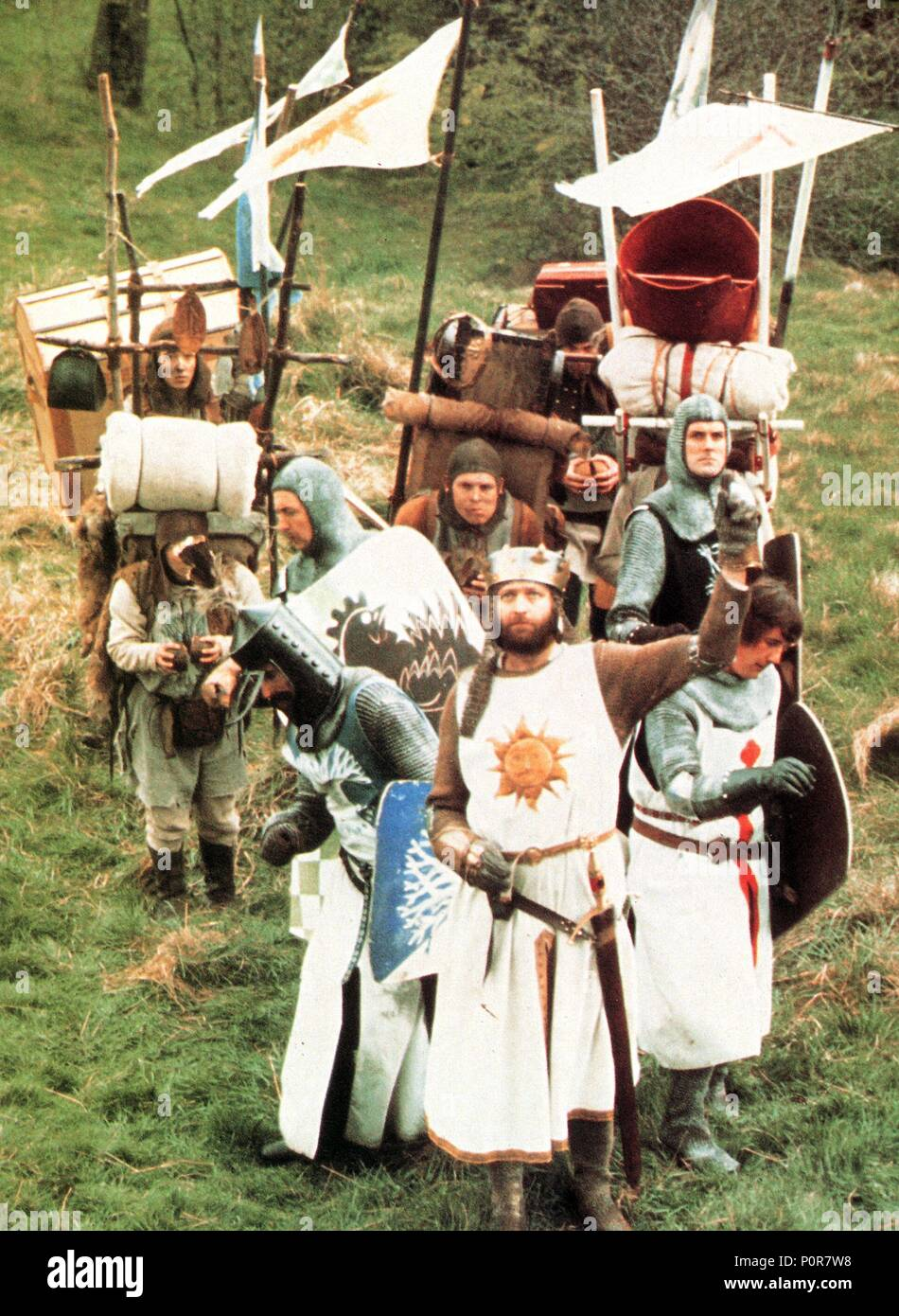 Monty Python And The Holy Grail (1975) Stock Photos ...
