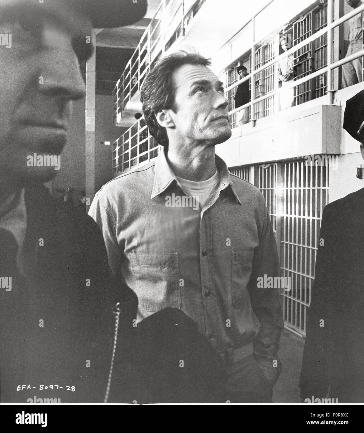 Escape From Alcatraz 1979 Clint Stock Photos Escape From