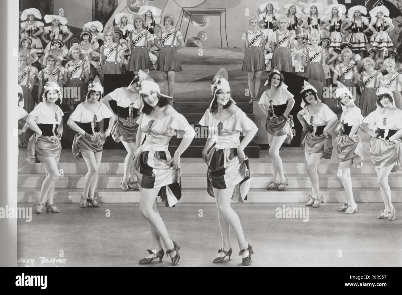 Original Film Title: THE SHOW OF SHOWS.  English Title: THE SHOW OF SHOWS.  Film Director: JOHN G. ADOLFI.  Year: 1929.  Stars: LORETTA YOUNG; SALLY BLANE. Credit: WARNER BROTHERS / Album - Stock Image