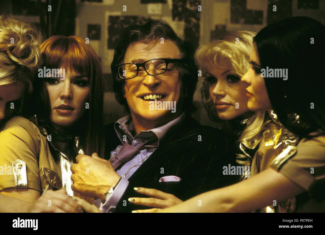Original Film Title: AUSTIN POWERS IN GOLDMEMBER.  English Title: AUSTIN POWERS: GOLDMEMBER.  Film Director: M. JAY ROACH.  Year: 2002.  Stars: MICHAEL CAINE. Credit: NEW LINE CINEMA / GORDON, MELINDA SUE / Album - Stock Image