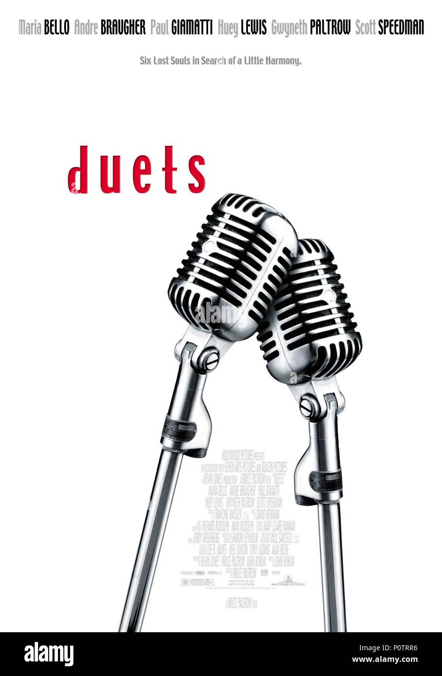 Original Film Title: DUETS.  English Title: DUETS.  Film Director: BRUCE PALTROW.  Year: 2000. Credit: HOLLYWOOD PICTURES / Album - Stock Image