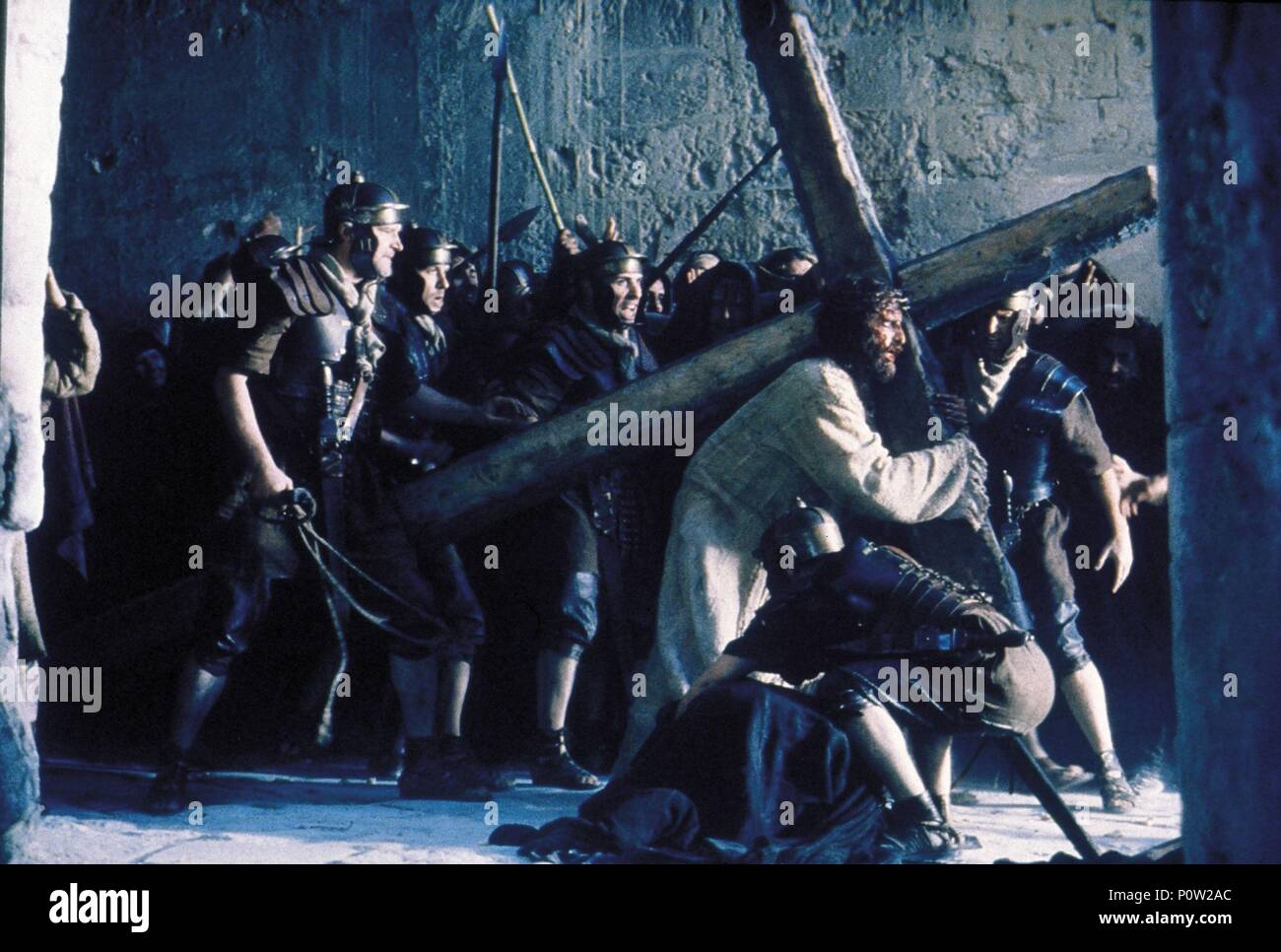 Original Film Title: THE PASSION OF THE CHRIST.  English Title: THE PASSION OF THE CHRIST.  Film Director: MEL GIBSON.  Year: 2004.  Stars: JIM CAVIEZEL. Credit: ICON DISTRIBUTION INC. / ANTONELLO, PHILIPPE / Album Stock Photo