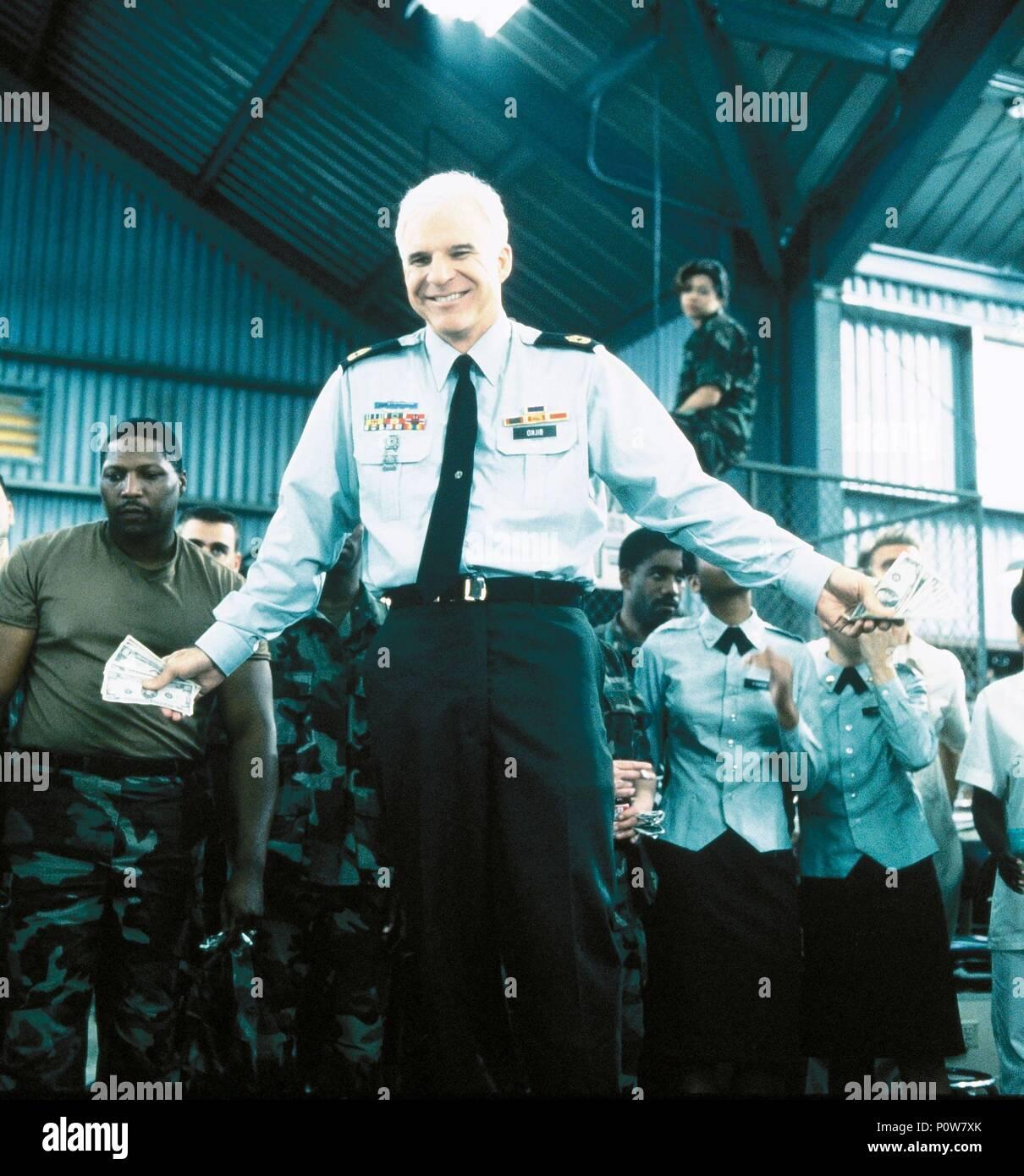 Original Film Title: SGT BILKO.  English Title: SGT BILKO.  Film Director: JONATHAN LYNN.  Year: 1996.  Stars: STEVE MARTIN. Credit: UNIVERSAL PICTURES / BATZDORFF, RON / Album - Stock Image