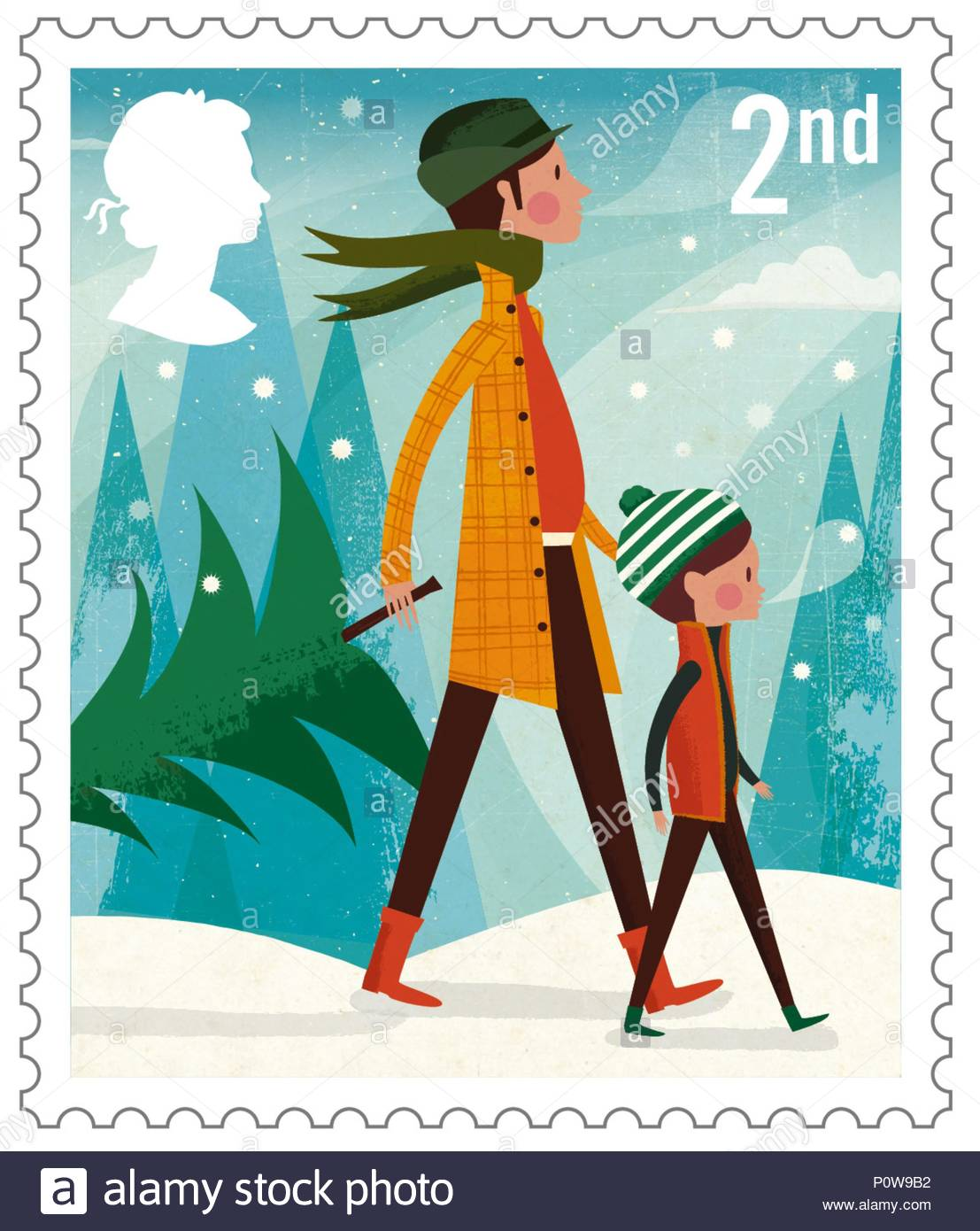 Royal Mail launches it\'s 2014 Christmas stamps.Royal Mail today ...