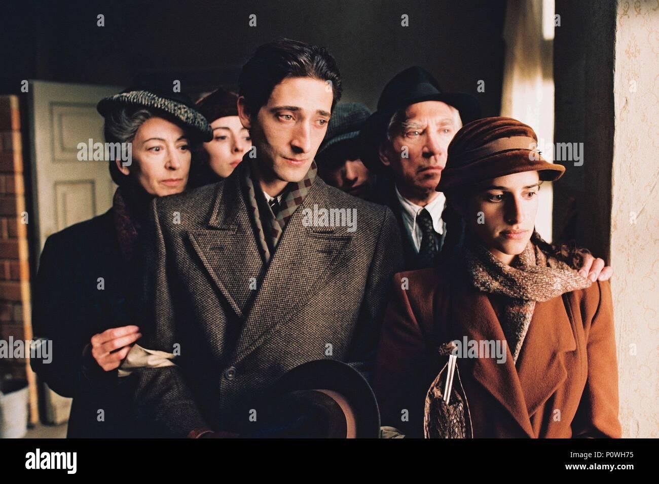 Original Film Title: THE PIANIST.  English Title: THE PIANIST.  Film Director: ROMAN POLANSKI.  Year: 2002.  Stars: ADRIEN BRODY; FRANK FINLAY; MAUREEN LIPMAN; ED STOPPARD; JESSICA KATE MEYER; JULIA RAYNER. Credit: FOCUS FEATURES / Album - Stock Image