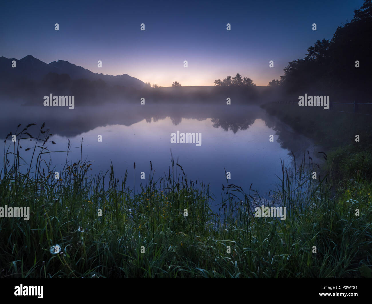 Serenity in Slovakia Stock Photo