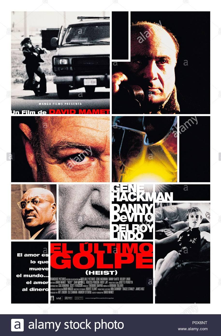86b909939f Original Film Title  HEIST. English Title  HEIST. Film Director  DAVID  MAMET. Year  2001. Copyright  Editorial inside use only.