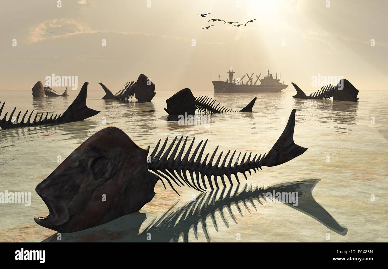 Dead Seas & Oceans. - Stock Image