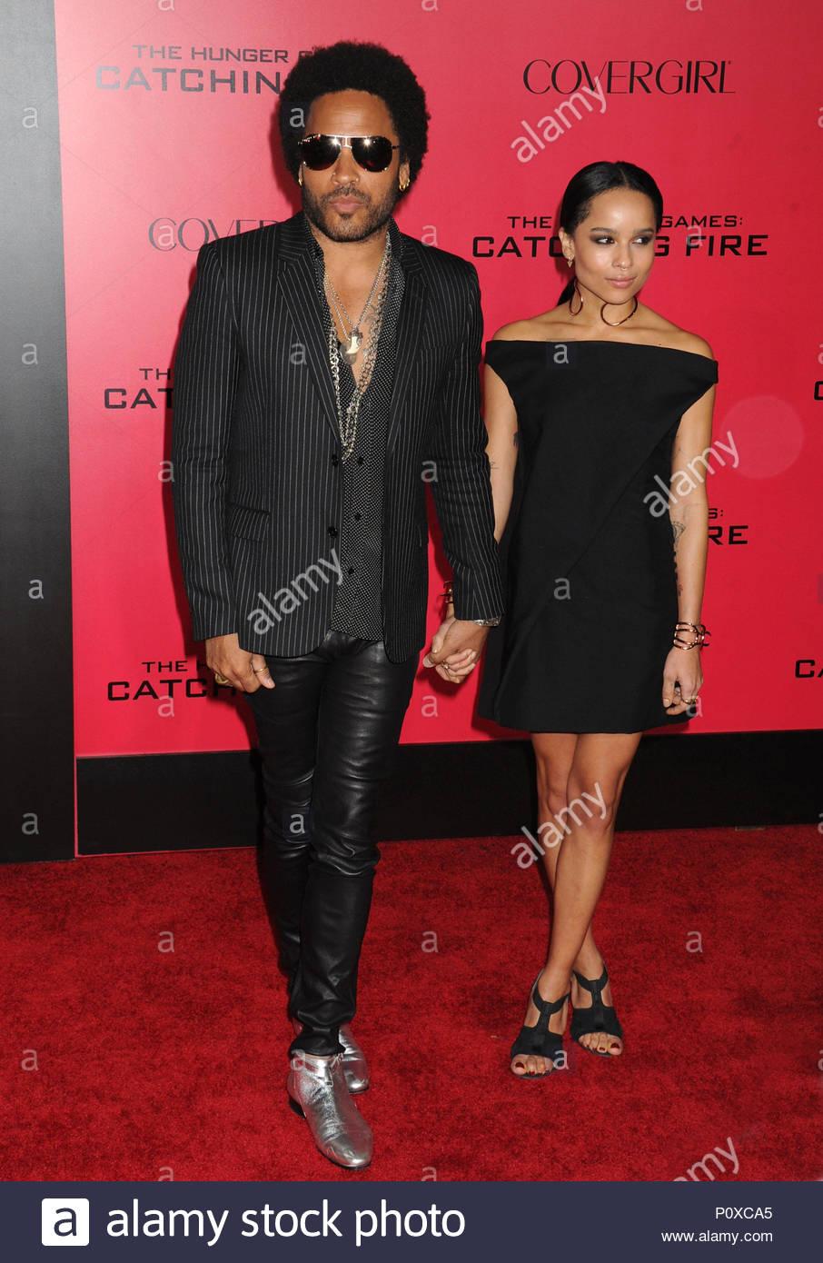 Lenny Kravitz And Zoe Kravitz Mandatory Byline To Read Infphoto