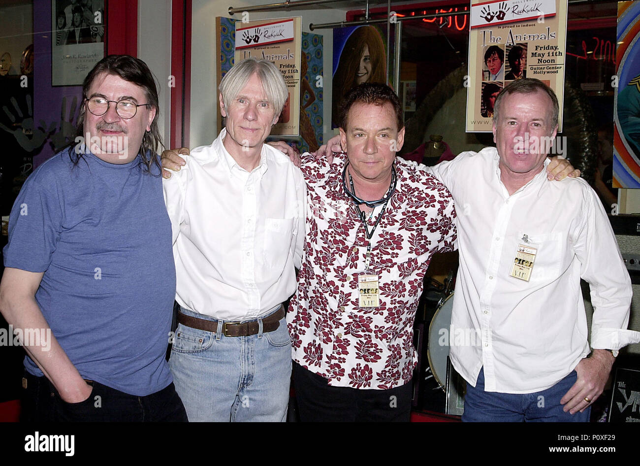 e28e747f0 Members of the legendary '60s British group The British pose together after  being inducted into
