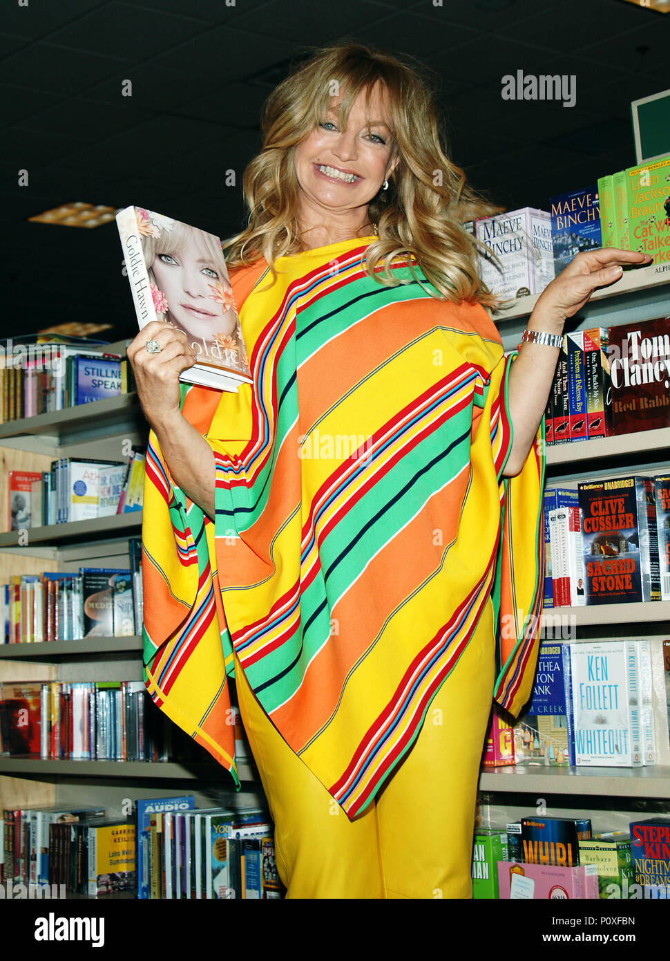 Bookstore Appearance By Goldie Hawn Signing Her Spiritual