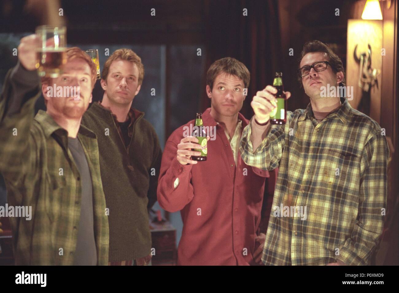 Original Film Title: DREAMCATCHER.  English Title: DREAMCATCHER.  Film Director: LAWRENCE KASDAN.  Year: 2003.  Stars: THOMAS JANE; JASON LEE; DAMIAN LEWIS; TIMOTHY OLYPHANT. Credit: WARNER BROS. PICTURES / Album Stock Photo