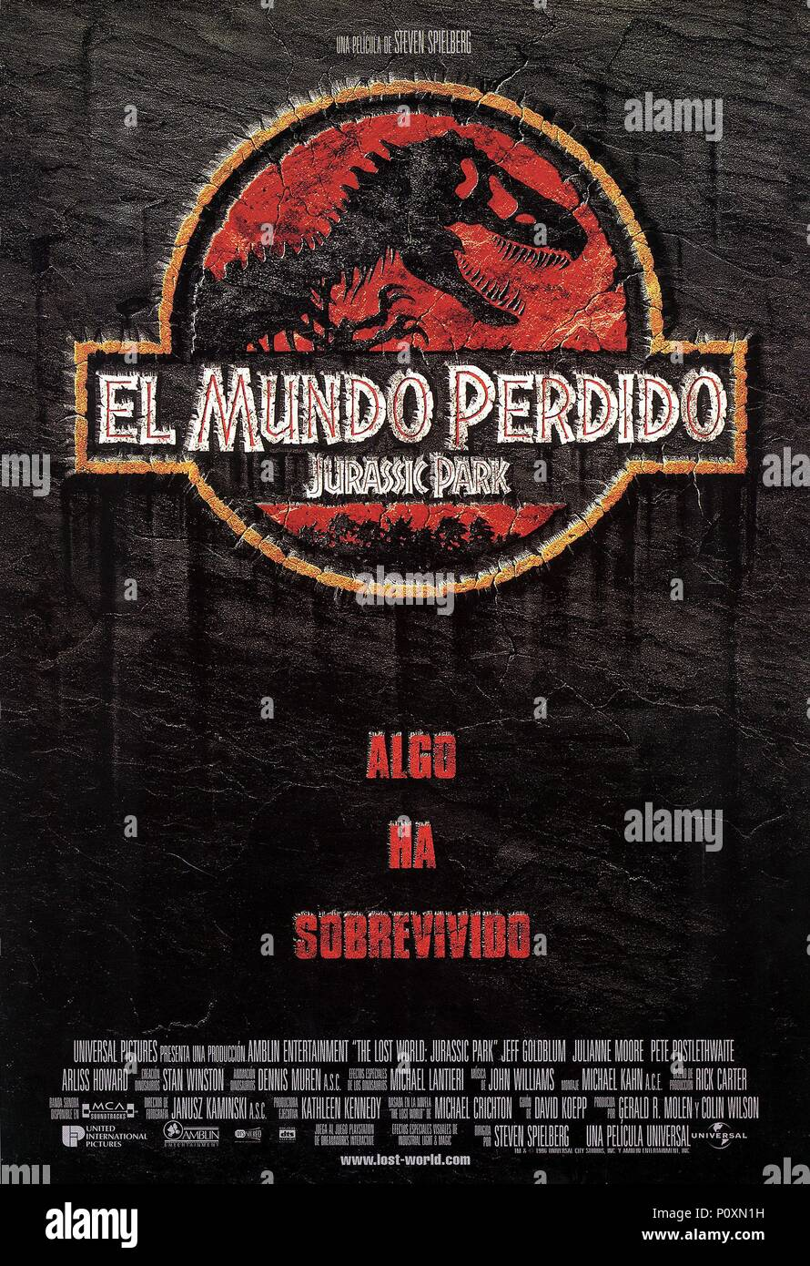 English Title The Lost World Jurassic Park Film Director Steven Spielberg Year 1997 Credit Universal Pictures Album