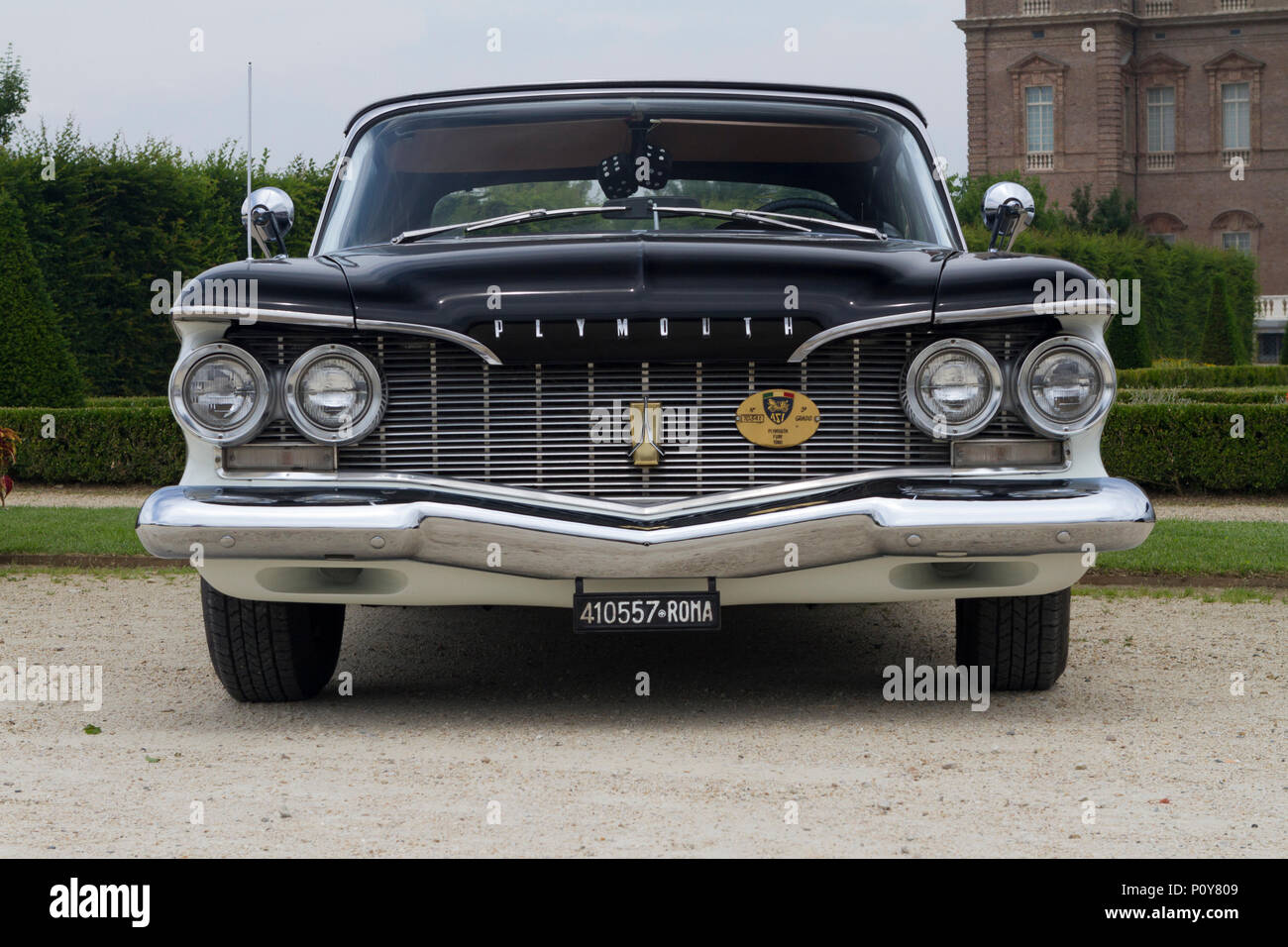 Plymouth Fury Stock Photos Images Alamy 1960 Convertible A In The Gardens Of