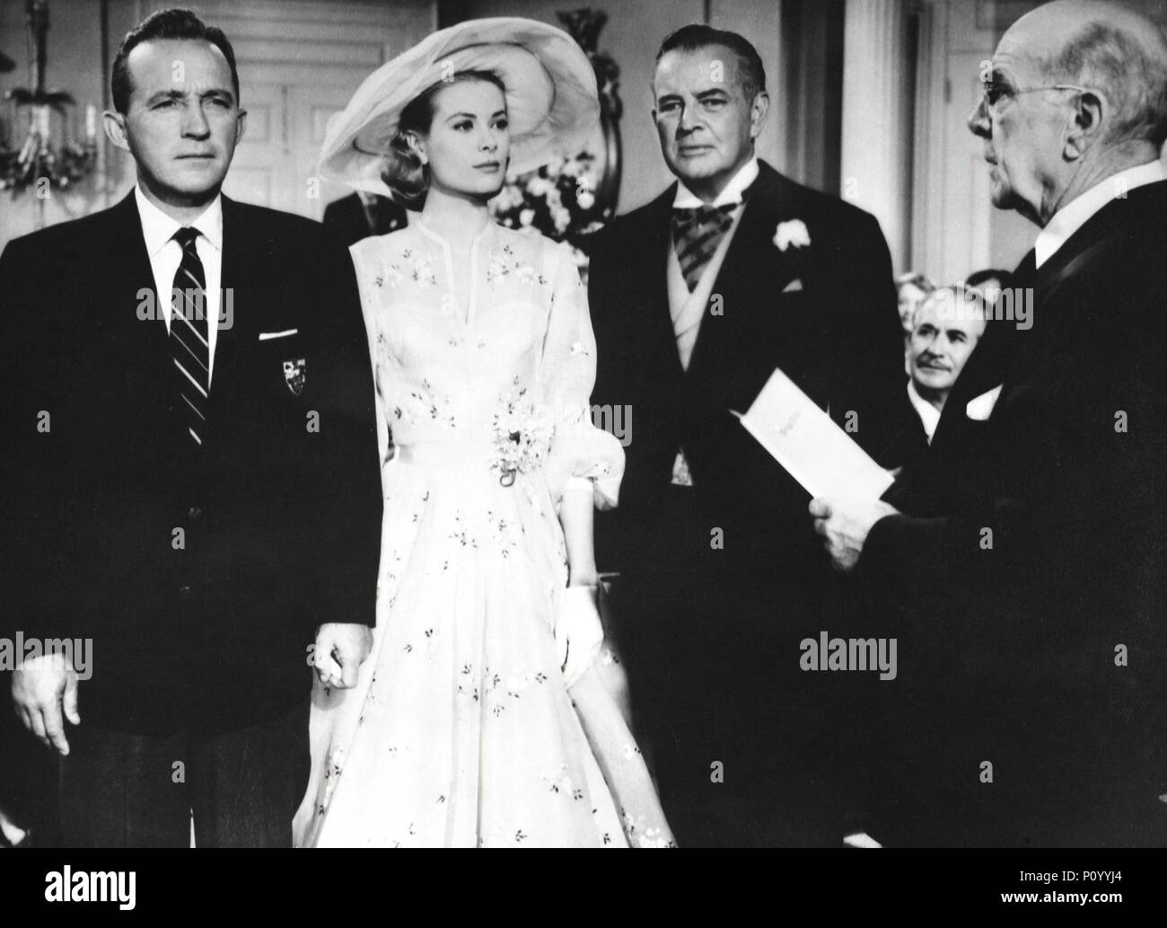 Original Film Title: HIGH SOCIETY.  English Title: HIGH SOCIETY.  Film Director: CHARLES WALTERS.  Year: 1956.  Stars: GRACE KELLY; BING CROSBY; SIDNEY BLACKMER. Credit: M.G.M. / Album - Stock Image