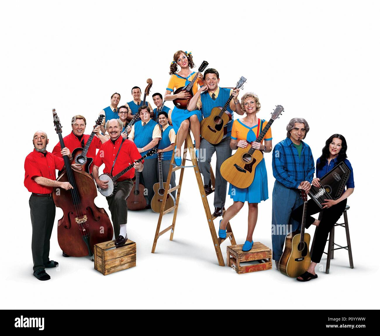 Original Film Title: A MIGHTY WIND.  English Title: A MIGHTY WIND.  Film Director: CHRISTOPHER GUEST.  Year: 2003. Credit: CASTLE ROCK ENTERTAINMENT / Album - Stock Image